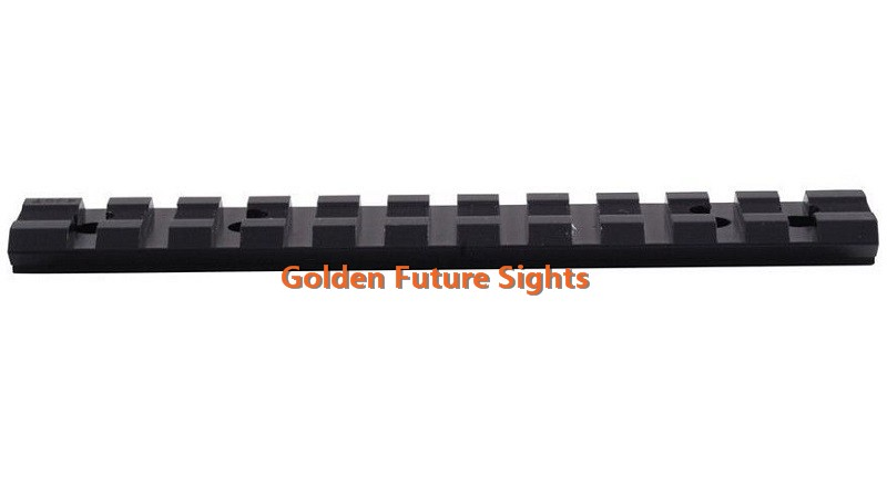 Scope Sight Mount Low Profile Base Weaver Picatinny Rail Slot For Ruger 10//22 11