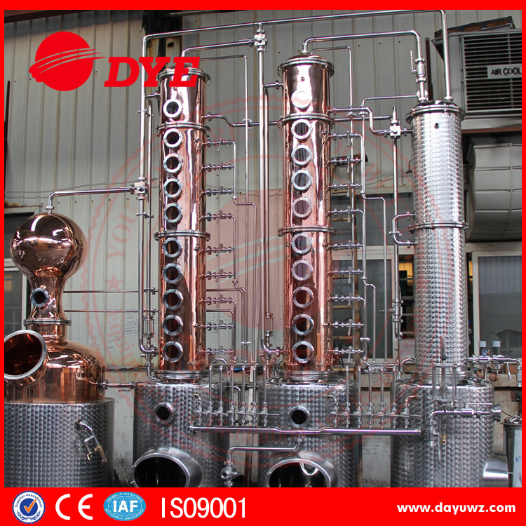 stainless steel micro used distillery ethanol distillation equipment
