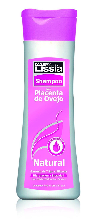 Lissia-Placenta De ovejo Shampoo. Diseñado para acondicionar de manera profunda los cabellos resecos y maltratados. 450gr / 15oz