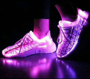 2018 Super Deals Good Brand Women shoes Optical fiber led Light Up Shoes For Women