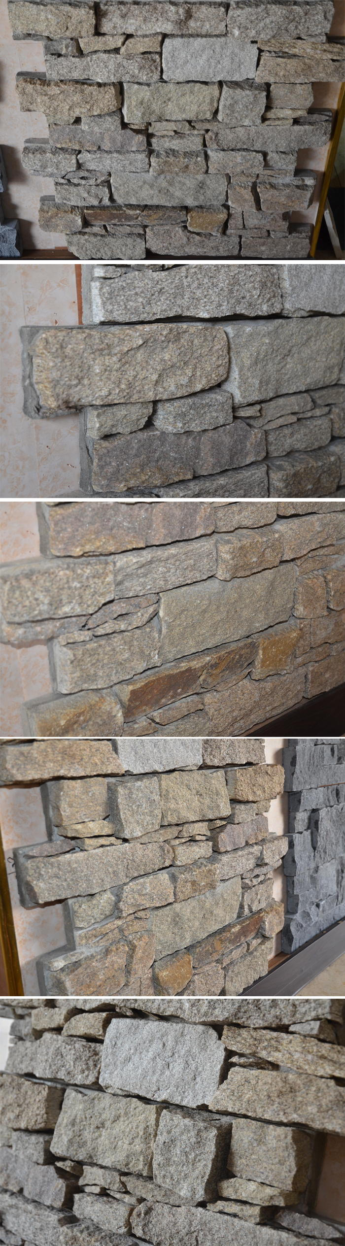Rusty Slate Rough Outdoor Natural Stone Wall Tile For Wall