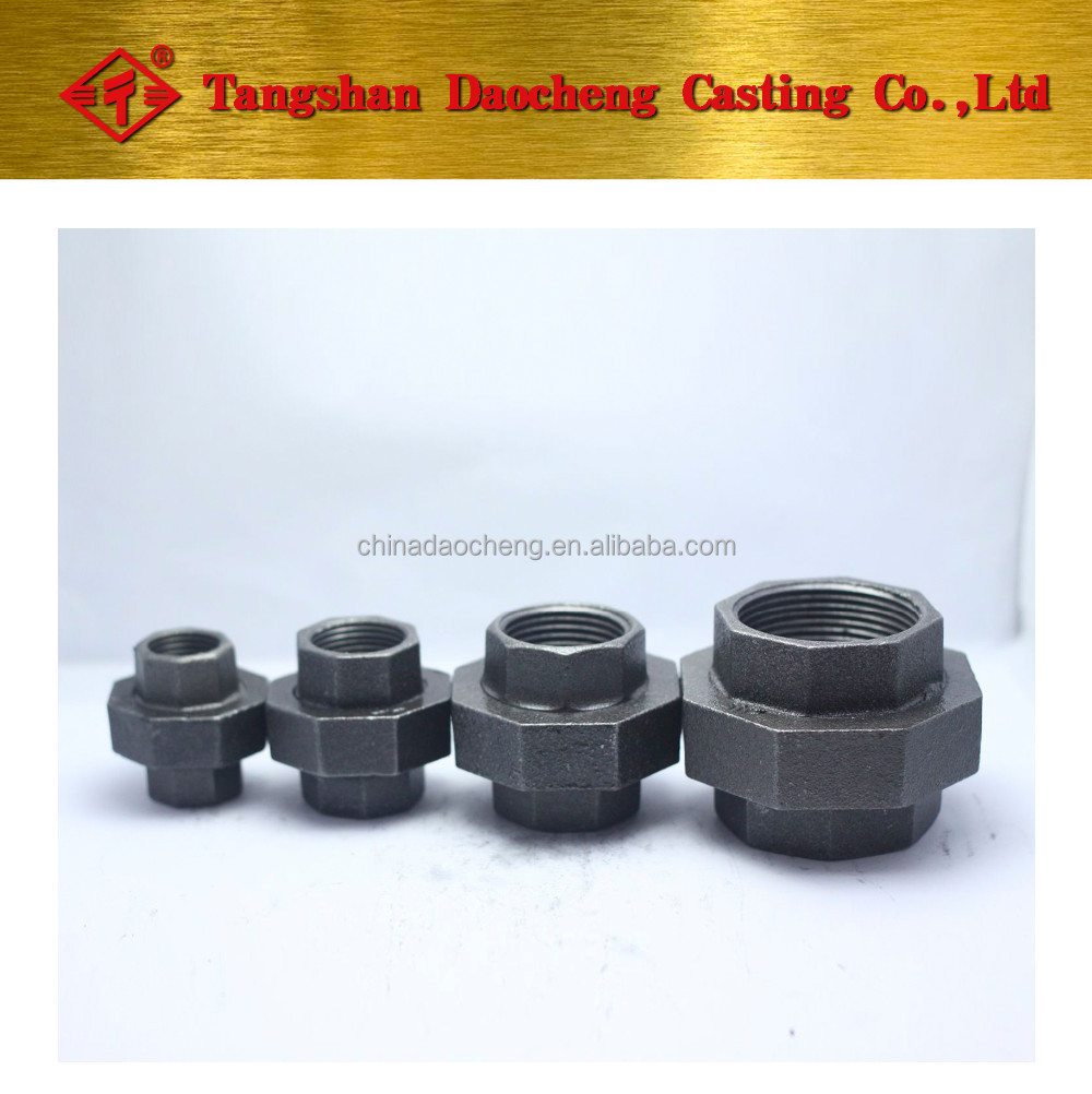 "BS Thread 330 Union 2"" iron to iron Malleable Iron Pipe <strong>Fittings</strong>"
