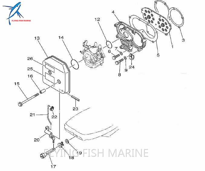 Detail Feedback Questions About Boat Motor 648 13621 A1 Valve Seat