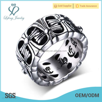 Cheap wholesale men stainless steel ring,lucky ring,tungsten ring men