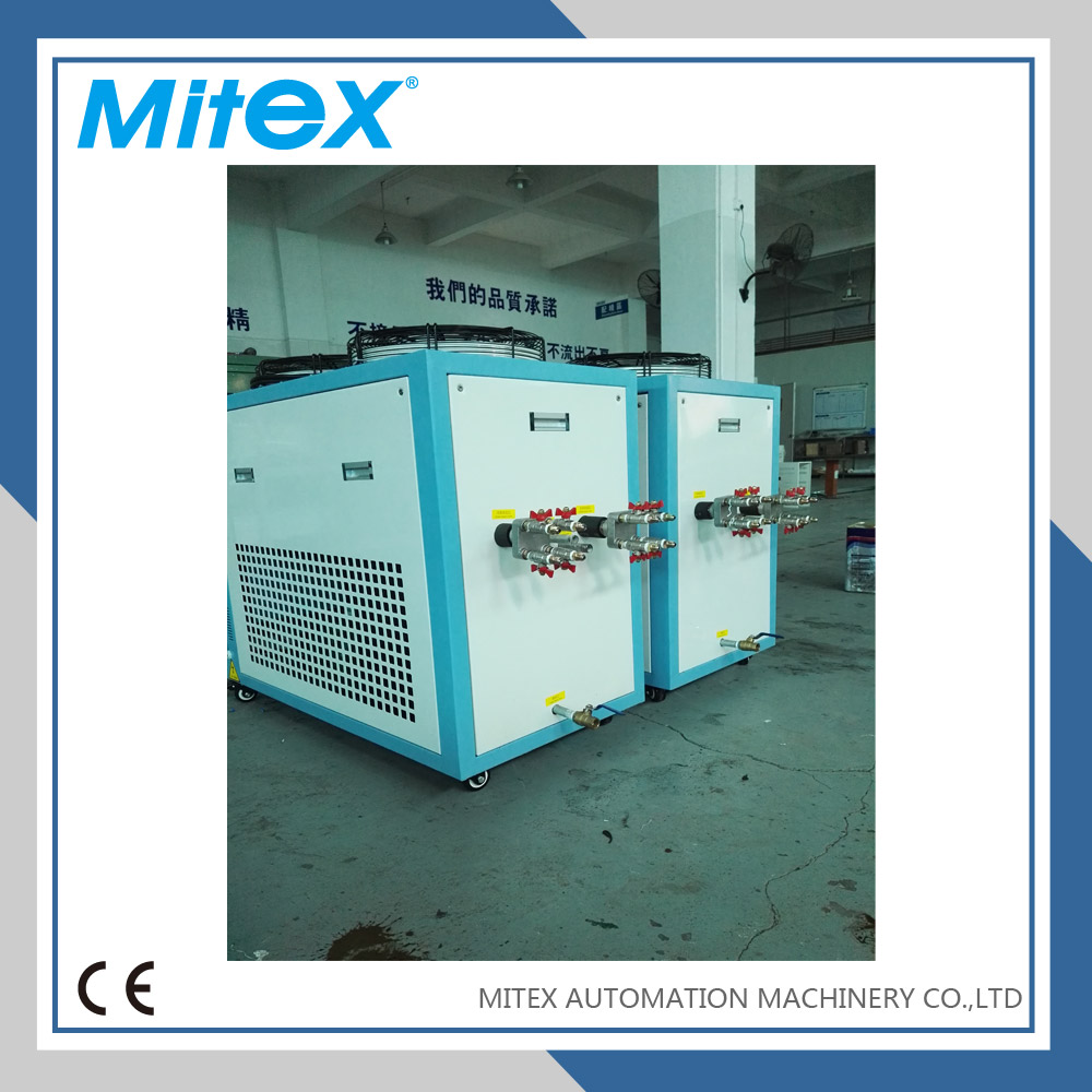 industrial air cooled water chiller plant