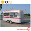 electric type ice cream food cart, battery-operated mini bus with low price