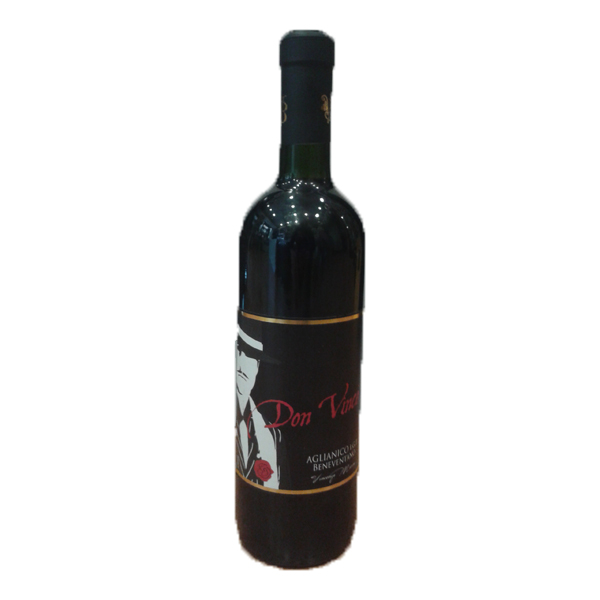 "Aglianico I.G.P classic Italian red Wine vino italiano "" Don Vince"""