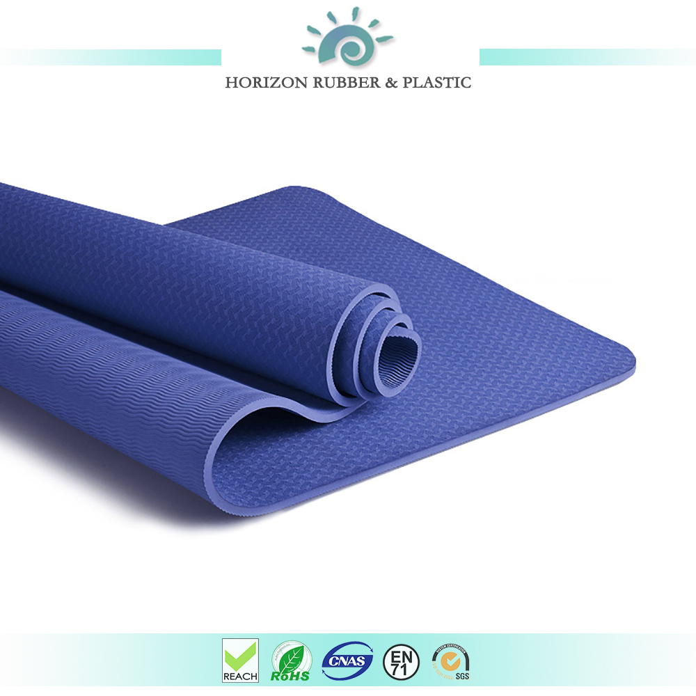 laser printing hot sale non toxic not distortion 3,4,5,6mm TPE yoga mat
