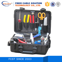FCST210204 Fiber Optic cable splice kits Fusion Splicing Tool Kit