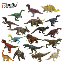 Simulation plastic toy dinosaur model for theme park gift