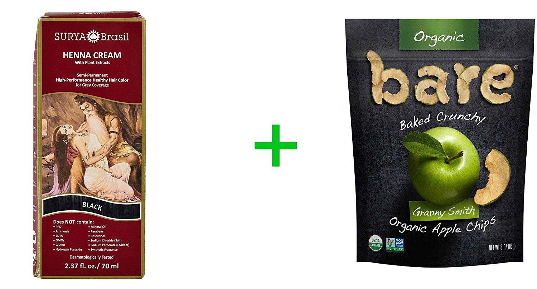 6bda0c954384f Buy Surya Brasil Henna Cream Hair Coloring Black -- 2.37 fl oz(2 ...