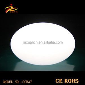 D35*H27cm Color changing led orb with rechargeable battery operated/led light ball/led garden ball light
