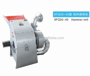 Diesel engine corn hammer mill/hammer grinder crusher for sale