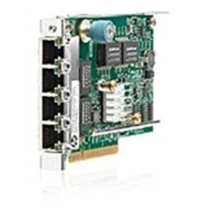 """Hp Ethernet 1Gb 4. Port 331Flr Adapter . Pci Express X4 . 4 Port(S) . 4 X Network (Rj. 45) . Twisted Pair """"Product Type: Network & Communication/Network Interface Cards"""""""