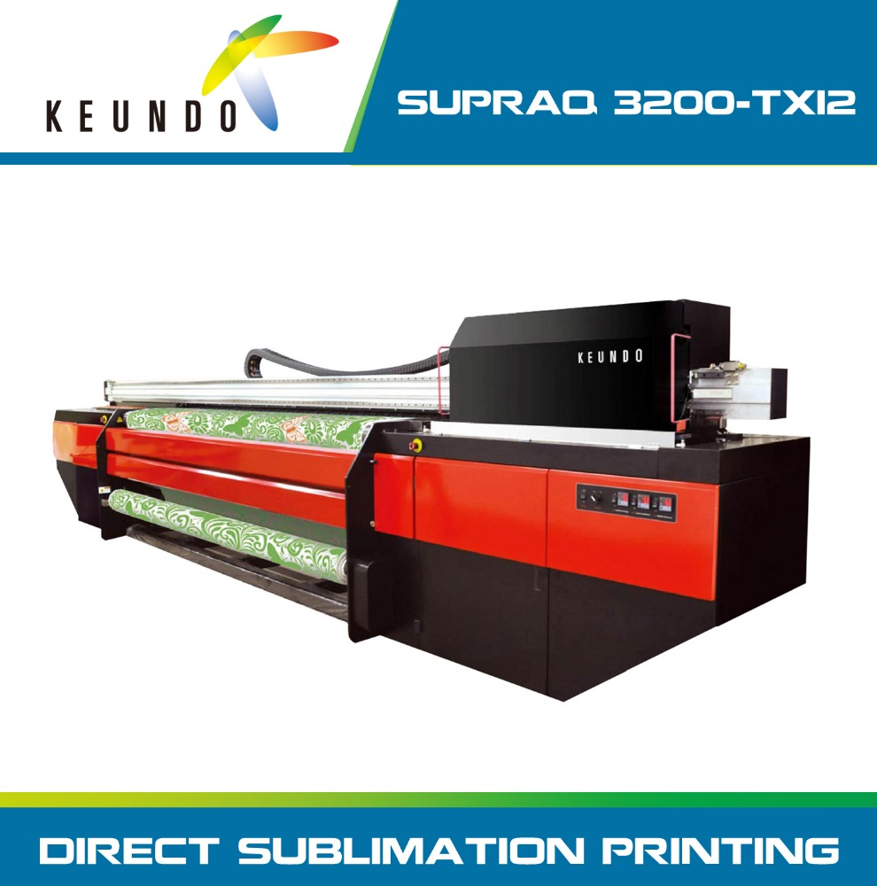 KEUNDO Digital 3.2M Large format Dye Sublimation Printer with SG-1024