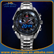 Man Brand Watch 100 M Waterproof TVG LED Watch Luxury 2015 Men Stainless Steel Watch