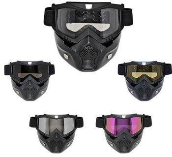 d86690126cf6 High quality best Motorcycle helmet goggles outdoor riding removable mask  for Harley