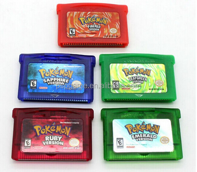 Good sellers- POKEMON games for GBA