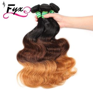 Ombre Malaysian Virgin Hair Lace Closure 1 piece Human Hair Lace Closure Body Wave Ombre Closure 1b/4/27 Hair Weaving