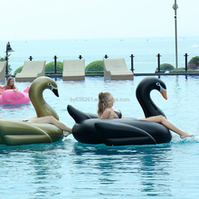 2017 giant pool floats inflatable swan for kid and adult