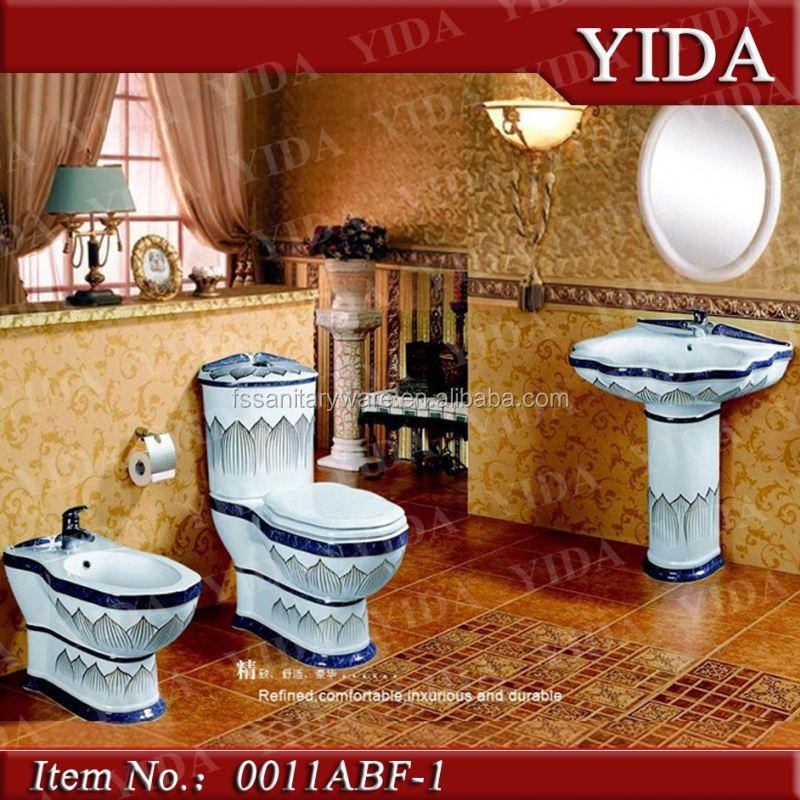 badkamer sanitair toilet set, sanitair wc, keramisch sanitair wc, Badkamer