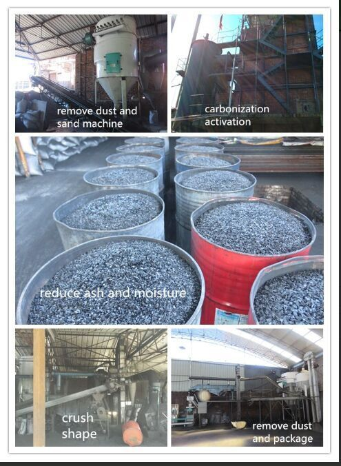 Recycling Use Coconut Shell Granular Activated Carbon Buyers For ...