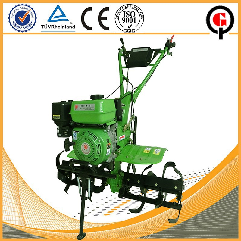 2WD mini hand rotavator for farm and garden use