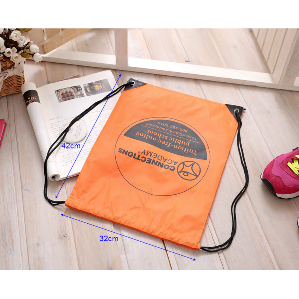 2017 alibaba ECO-friendly recycled draw string bag for promotional