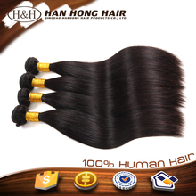 natural high quality full cuticle remy hair weft unprocessed fake hair for braiding