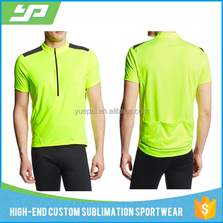 China Supplier sublimated personalised unique design cotton cycling jersey