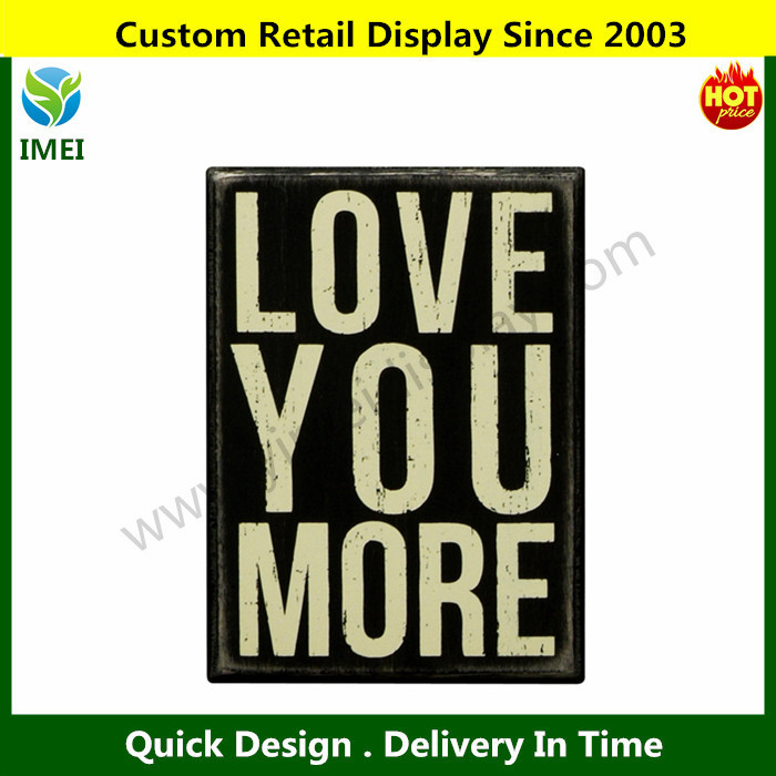 Custom design Primitives 4 by 5.5-Inch Box Sign, Small Wooden Sign,Decoration Sign