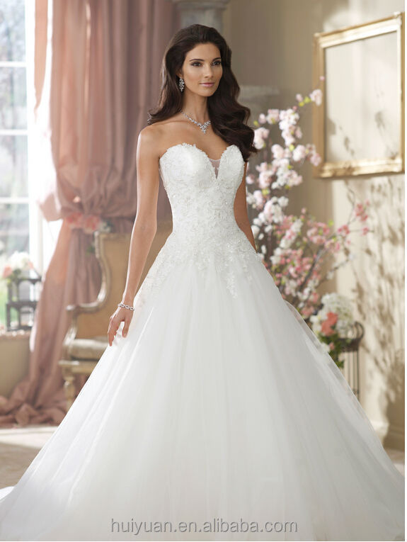 Wedding Dress Lace Corset Top : Latest lace sleeveless corset top tulle ball gown wedding