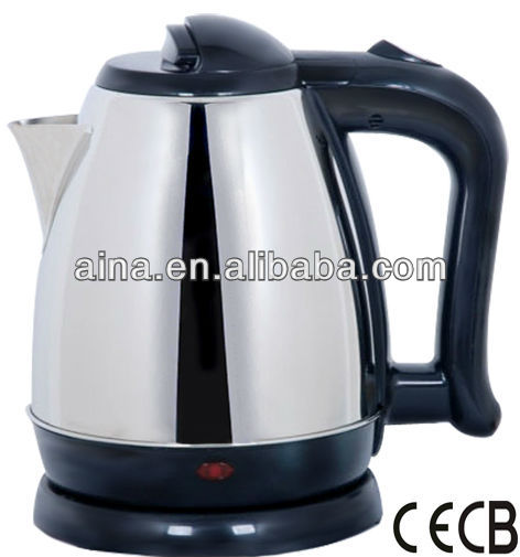 Cheap price stainless steel electric tea kettle AN-151A