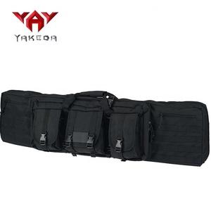 yakeda custom cheap AK Heavy duty army police waterproof hunting military  gun bag tactical rifle bag