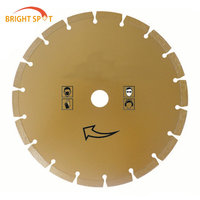 good quality 9 inch diamond cutting disc For cutting marble, granite, concrete, ceramic, tile and