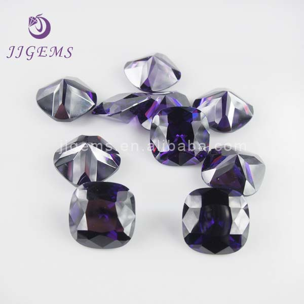 February Amethyst Wholesale Birth Stone in CZ Stone Material