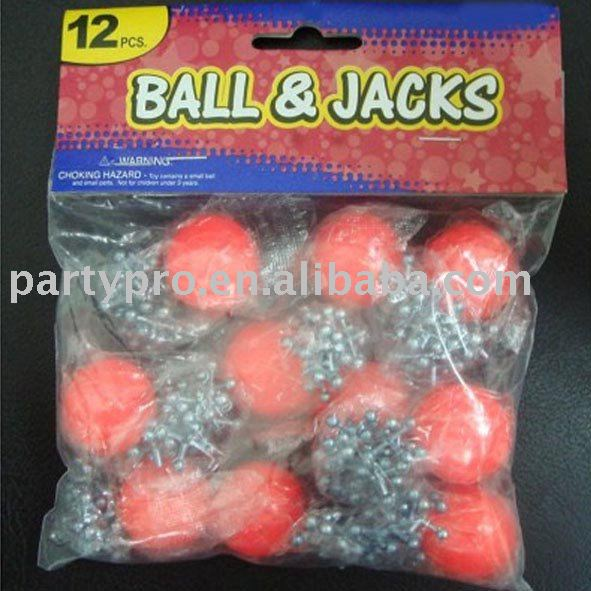 Ball and jacks, ball & jacks, jacks and ball set