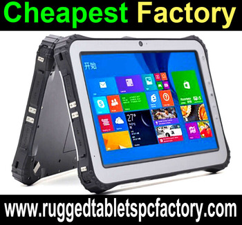 Factory Rugged Windows Tablet Pc Tablets Computer With 4g Nfc 1d 2d Barcode Scanner Fingerprint