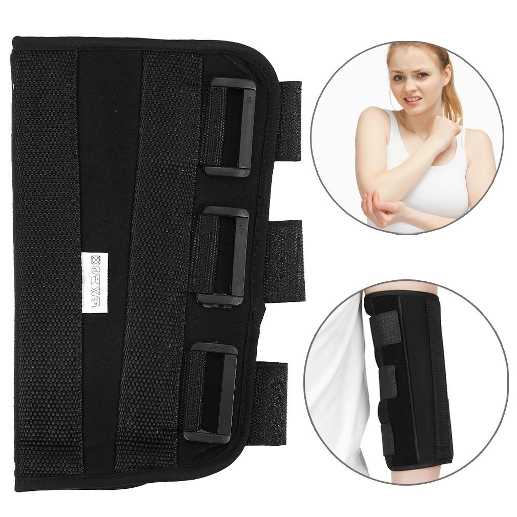 8c31e25786 Get Quotations · Elbow Support PM Night Splint, Hinged Elbow Arm Forarm  Braces Support Splint Orthosis Orthotics Band