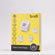 Budi dual usb Universal word charger home charger usb charger with dual usb 2.4Amp for UK/AU/US plug from budi factory