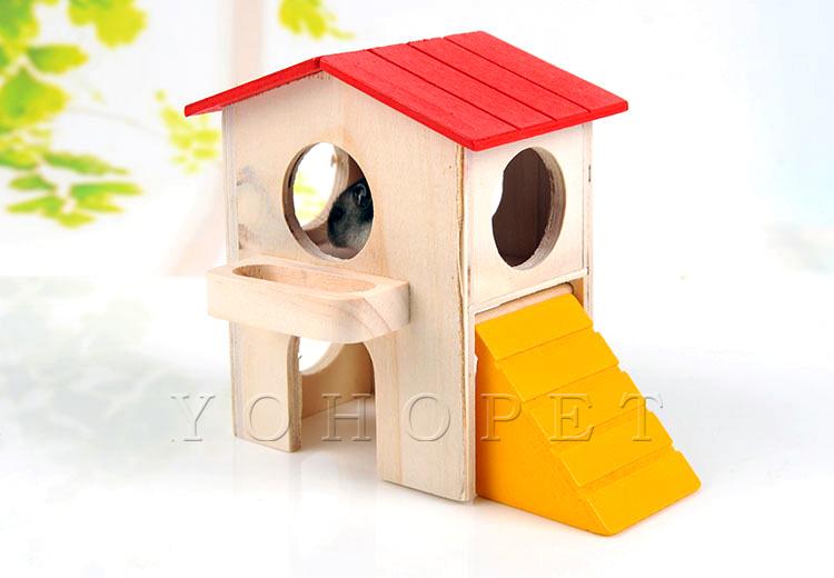 Drewniane akcesoria dla chomików hatchimals gwinea zabawki