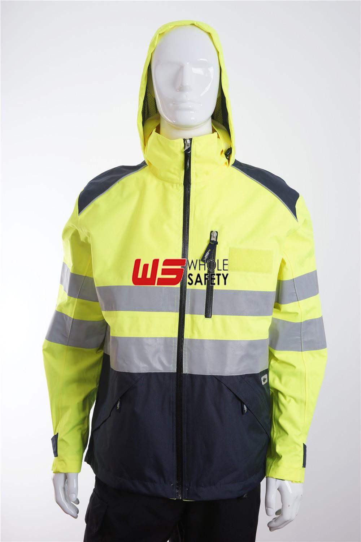 3xl BRAND NEW PACKED add company Hi Visibility Hi Viz Waterproof Jacket XXXL