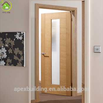 office door oak wooden door design with glass & Office Door Oak Wooden Door Design With Glass - Buy Door With Flower ...
