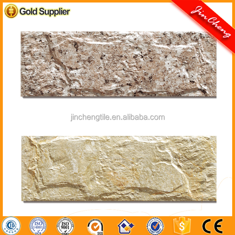 MV3153 digital inkjet 3D decorative exterior ceramic wall cladding external tiles outdoor building material