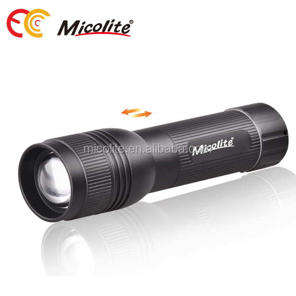 Adjustable Focus 250LM 3-modes XPE Handy Portable Handheld Compact LED Flashlight Torch