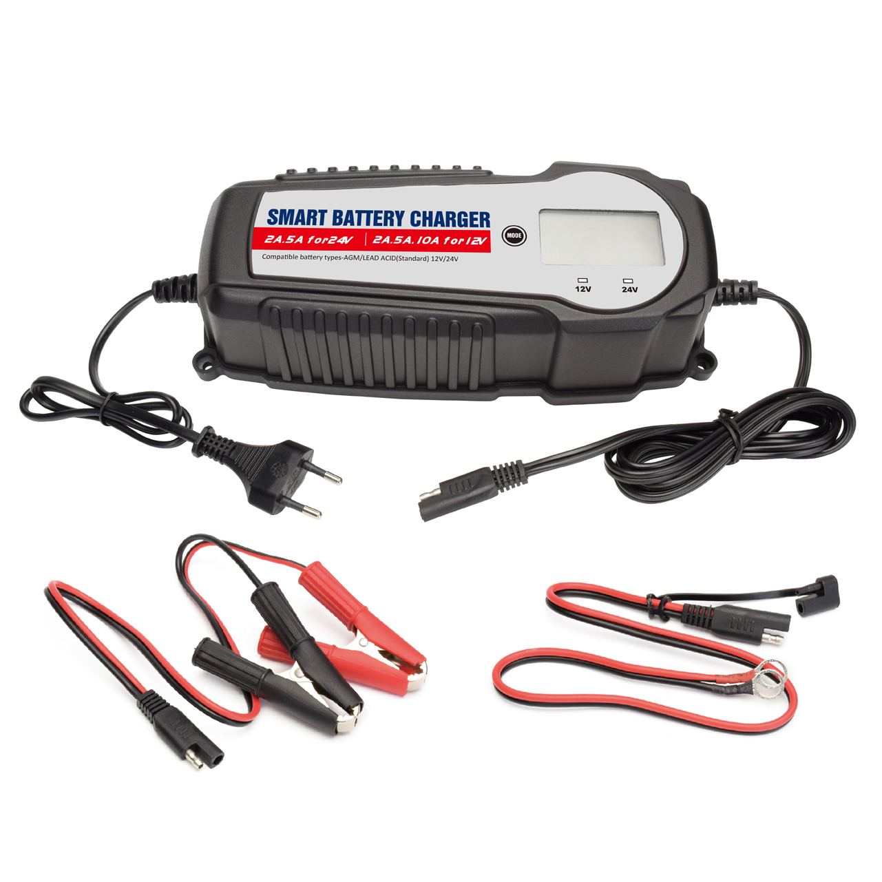 Smart Battery Charger W Lce Buy 12v 24v Chargerautomatic For All Types Te4 0268