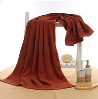 Wholesale Textile 100% Cotton Extra-Soft Thick Absorbent Luxury BATH TOWELS 70*140 CM ,Colorful thick and big hotel bath towel