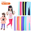 Girls Leggings Pants Toddler children Trousers Candy Pure Color Classic Baby Kids Clothing Full Length 2