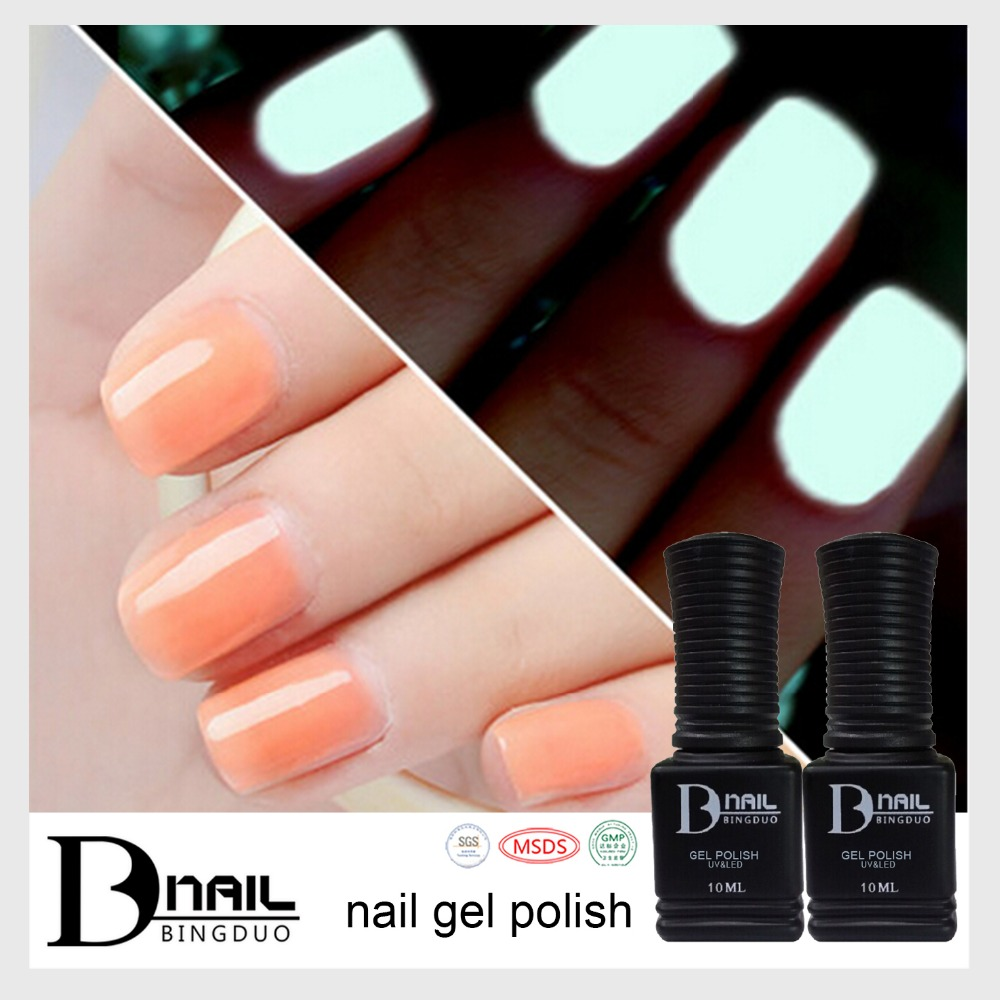 2016 B.d Special Colors Gel Luninnous Nail Gel Polish,Color Changing ...