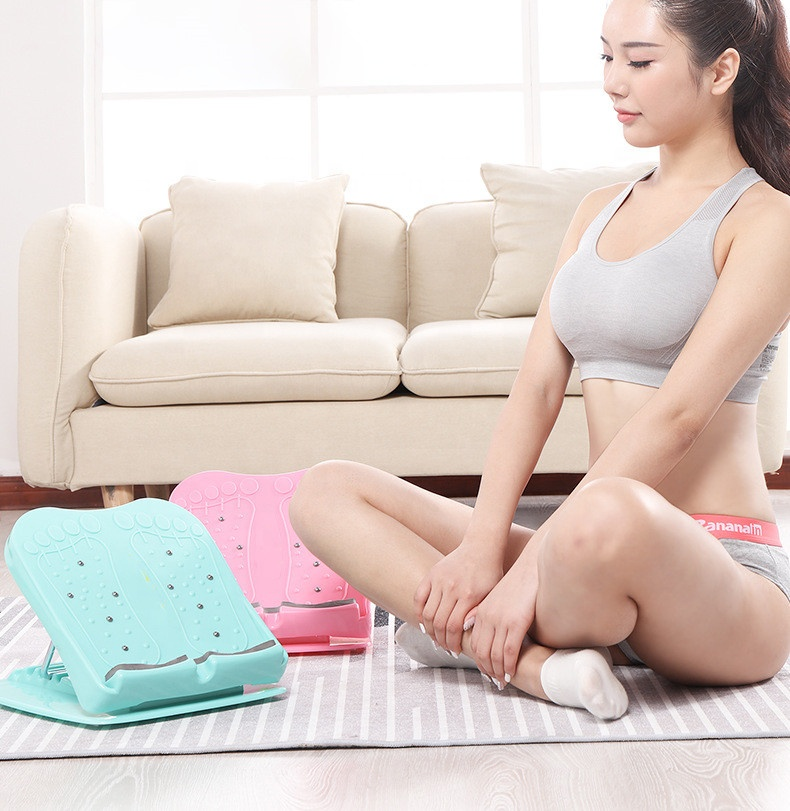 2019 hot selling adjustable slant foot massage board for <strong>fitness</strong>